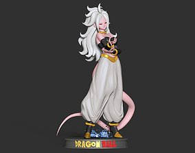 Android 22 - Dragon Ball Fanart 3D print model