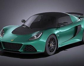 Lotus Exige Sport 350 2017 VRAY 3D