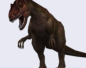 animated 3DRT - Dinosaurs - Allosaurus