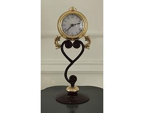 3D Heart clock