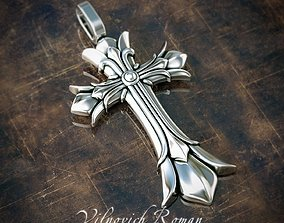 3D print model Brutal male cross