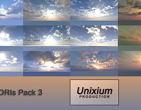 3D model HDRI Skies 12K PACK 3