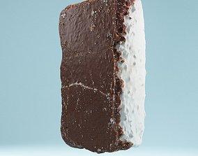 3D asset Foam Chocolat Coconut Split