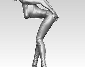 Jeans Woman Statue 3D print model