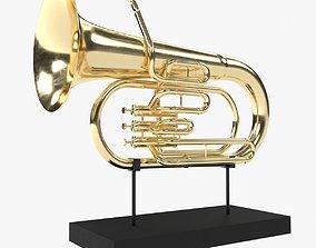 3D model Musical instrument tuba