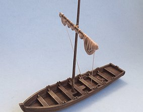 Small boat 3D printable model