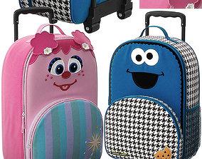 handbag 3D Sesame Street Luggage Model