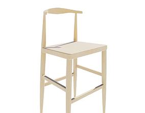 3D model Elbow bar chair