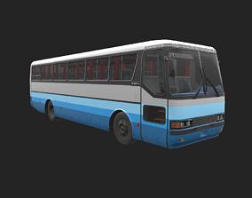 3D asset rigged Mercedes-Benz MB O-371R 1989 Bus
