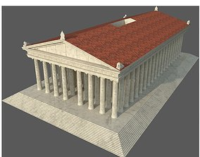 Temple of Artemis 3D model
