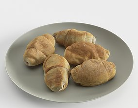 3D Croissants on the Plate
