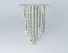 lobby chandelier 3D