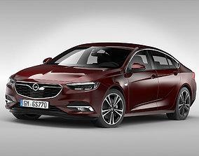 Opel Insignia Grand Sport 2017 3D model