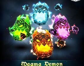 3D model Magma Demon