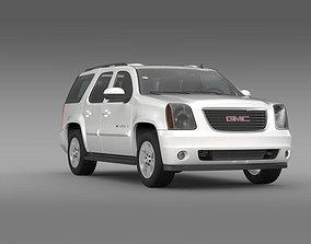 3D model GMC Yukon XFE 2009