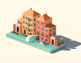realtime Venice Low-poly 3D model