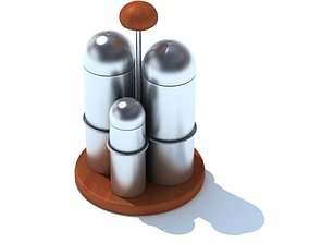 3D model Spices Holder For Kitchen