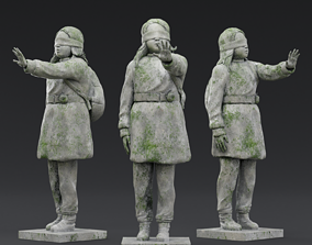 3D model Olimpia girl