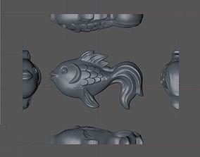 3D model fish Lollipop