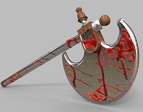 Bloody Axe gun 3D