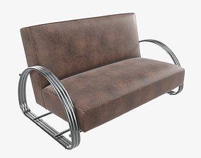 3D Loveseat sofa