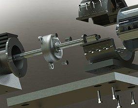 part Motor Blower 3D model