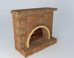 3D model FIREPLACE furnace