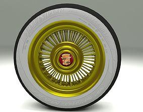 3D asset Cadillac Wheel