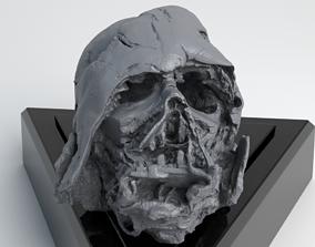 Melted Darth Vader Helmet - Star Wars Skull 3D Print