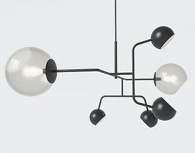Pendant lamp 3D model furniture