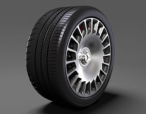 Mercedes Benz Maybach 2017 wheel 3D