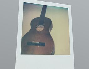 3D model Polaroid Guitar