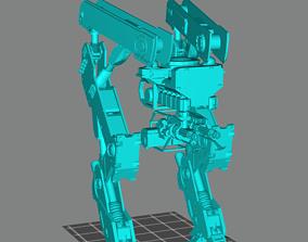 Gen-Zero Tank-Walker Prototype I 3D printable model
