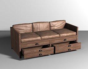 3D model Sofa-pillows