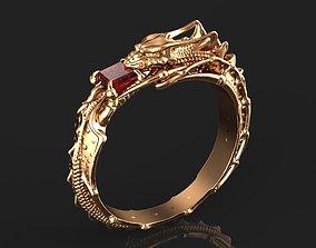 3D jewelry Dragon ring