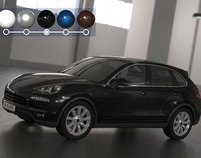 Porsche Cayenne high 3D model
