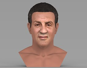 Sylvester Stallone Rocky Balboa bust for full color 3D