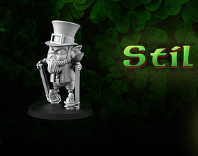 Stilts Leprechaun 3D print model