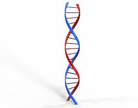 DNA molecule v2 3D model realtime