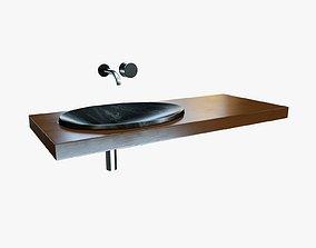 Grey Sink Set 3D