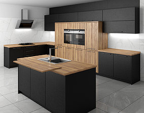 3D model Modern Kitchen teka