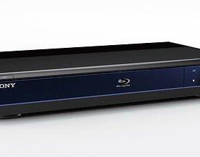 Modern Sony Blu Ray Player 3D model