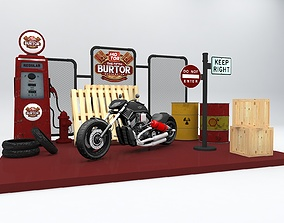 Booth Fotobooth 3D model