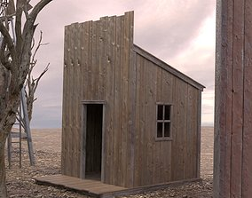 WILD WEST BUILDING 2 3D asset