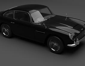 volante 3D model Aston Martin db5