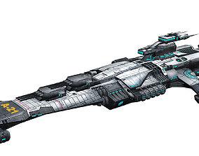 Battlestar - Battleship 01 3D