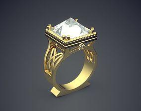 3D printable model Simple Classic Golden Square 2