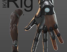 hand anatomy mechanical 06 3D model