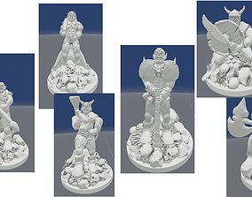 3D printable model Collection of Ogre Figurines