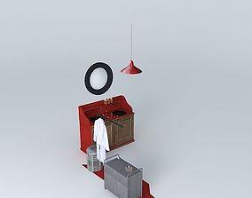 3D model Bath Maisons du Monde